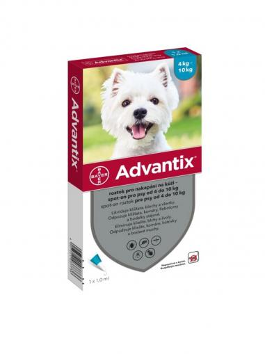 Advantix spot on pro psy 4-10 kg 1x1 ml