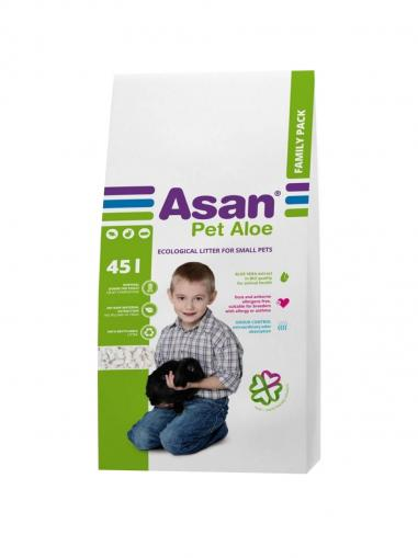 Asan Pet Aloe Family podestýlka