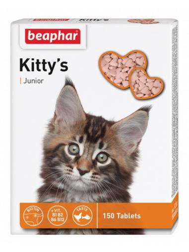 Beaphar Kitty's Junior biotin 150 tablet