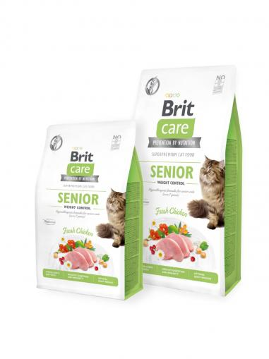 Brit Care Cat Grain-Free Senior and Weight Control 2 kg