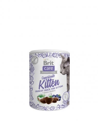 Brit Care Cat Snack Superfruits Kitten 100 g