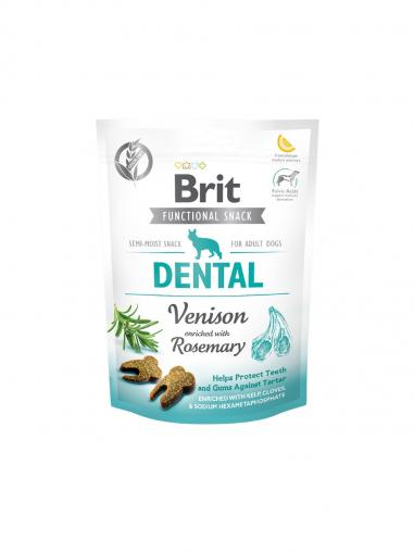 Brit Care Dog Functional Snack Dental Venison 150 g