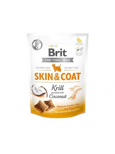 Brit Care Dog Functional Snack Skin & Coat Krill 150 g