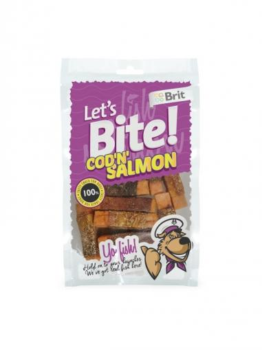 Brit Let's Bite Cod'n'Salmon 80 g