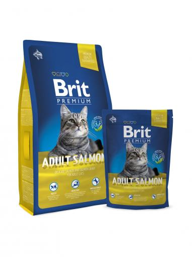 Brit Premium Cat Adult Salmon