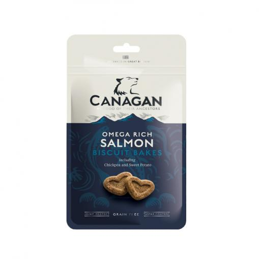 Canagan Dog Biscuit Bakes Omega Rich Salmon 150 g