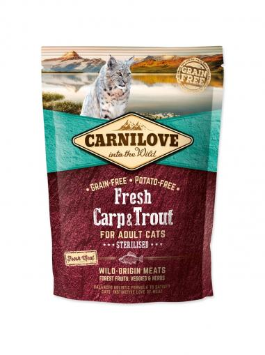 Carnilove Cat Fresh Carp & Trout for Sterilised Cats