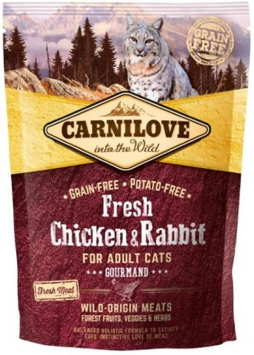 Carnilove Cat Fresh Chicken & Rabbit for Gourmand Cats