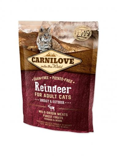 Carnilove Reindeer for Adult Cats Energy & Outdoor