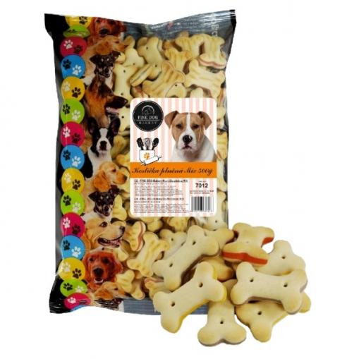 Fine Dog Bakery Kostička plněná mix 500 g