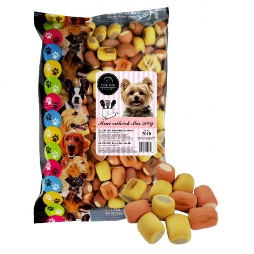 Fine Dog Bakery Mini váleček mix 500 g