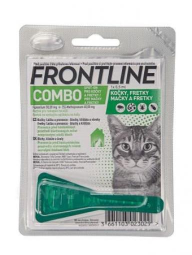 Merial Frontline COMBO spot-on cat a.u.v.sol 1x0.5 ml