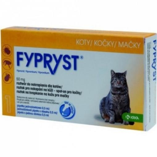 Fypryst spot on cat sol 1x0.5 ml