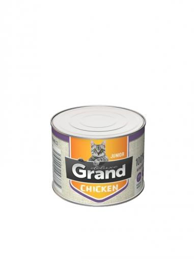 Grand DELUXE Cat Kuřecí junior 180 g