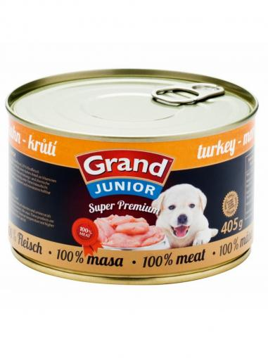 Grand Super Premium Dog Junior Turkey 405 g