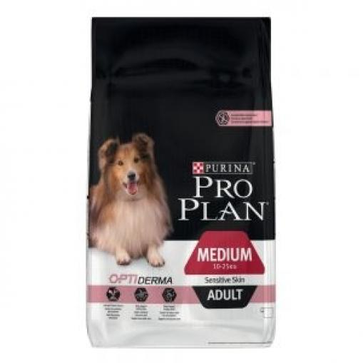 Pro Plan Dog Medium Adult OptiDerma 14 kg