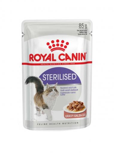 Royal Canin kapsička Sterilised in Gravy 85 g