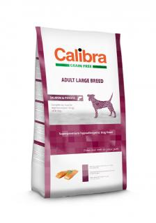 Calibra Dog Adult Large Breed Salmon & Potato Grain Free 2 kg