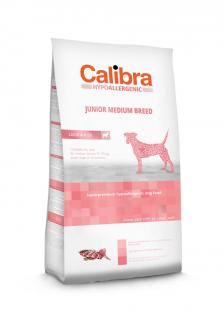 Calibra Dog Junior Medium Breed Lamb & Rice 14 kg