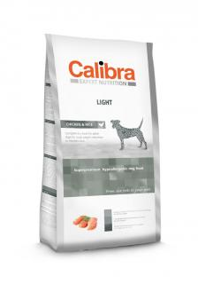 Calibra Dog Light Chicken & Rice 12 kg +2 kg ZDARMA