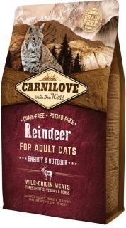Carnilove Reindeer for Adult Cats Energy & Outdoor 2 kg