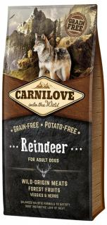Carnilove Reindeer for Adult Dogs 1,5 kg