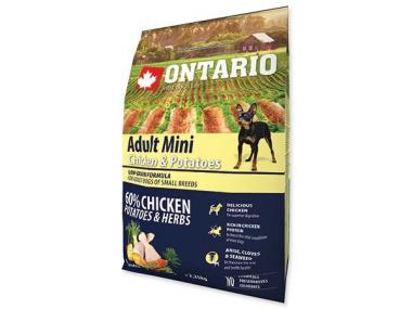 Ontario Adult Mini Chicken & Potatoes 2,25 kg