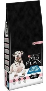 Pro Plan Dog Large Adult Athletic OptiDerma 14+2.5 kg ZDARMA