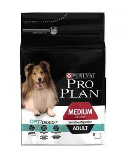 Pro Plan Dog Medium Adult OptiDigest 14 kg + 2.5 kg ZDARMA